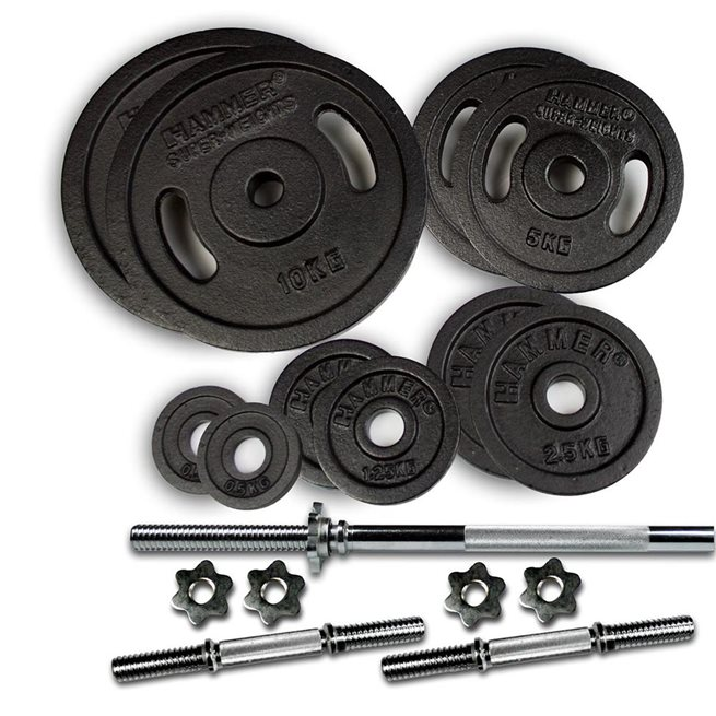 Hammer Weight Discs 53 kg set