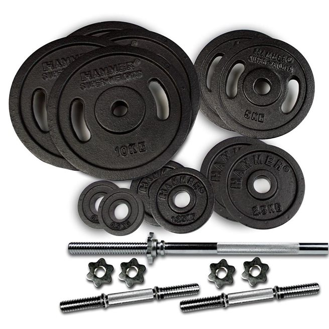 Hammer Weight Discs 73 kg set