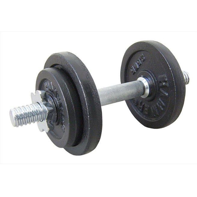 Hammer Dumbbell Set Black 10 kg