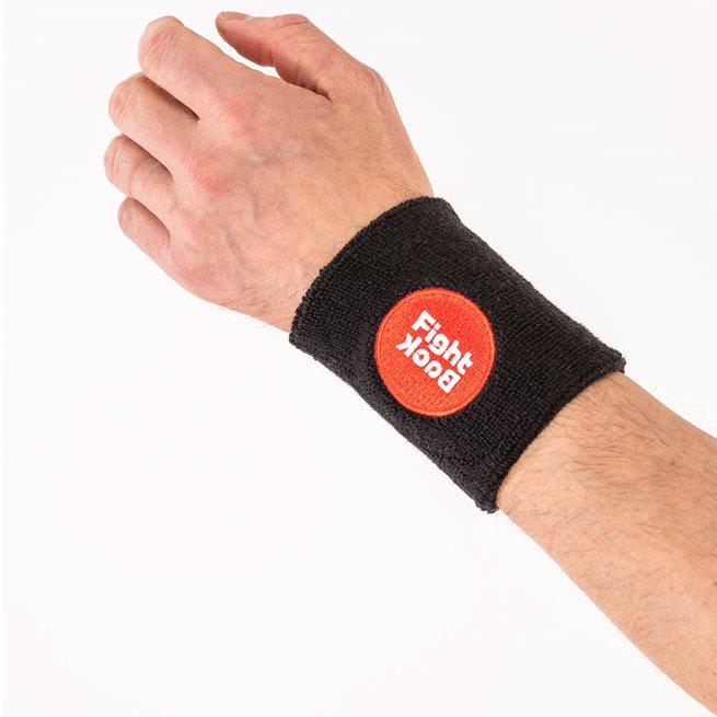 Fightback Wrist Sweat Bands (Pr)