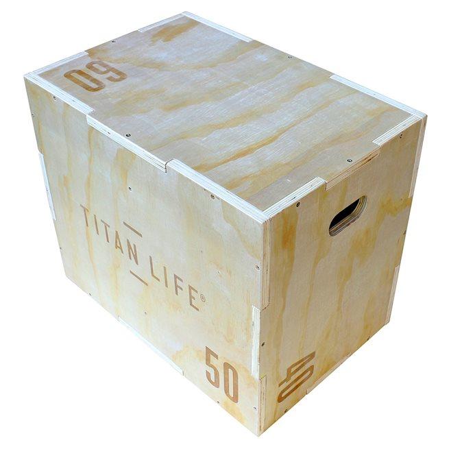 TITAN LIFE Plyo Boxes Wooden