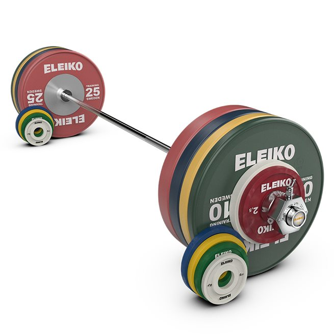 Eleiko IWF Weightlifting Training Set NxG  185 kg, women, RC