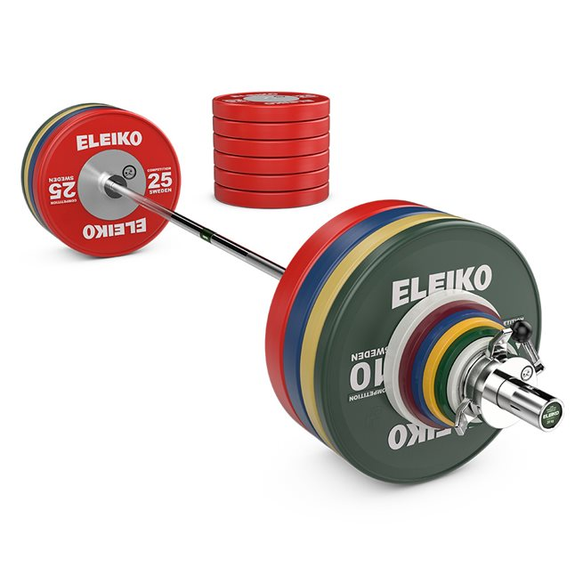 Eleiko WPPO Powerlifting Competition Set - 340,5 kg
