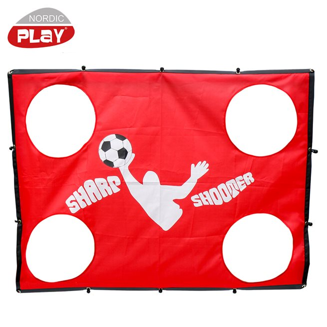 NORDIC PLAY Sharp Shooter till Soccer Goal 1,30 x 1,00 m