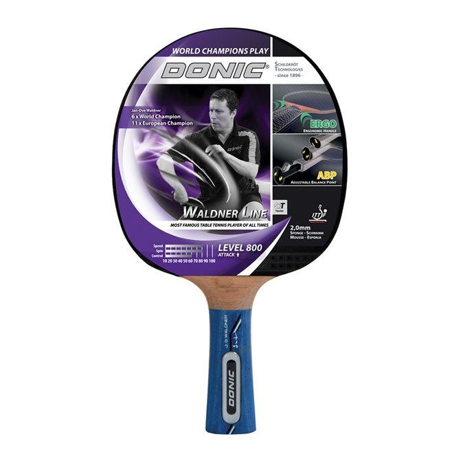 DONIC Racket Waldner 800 inkl DVD med J-O