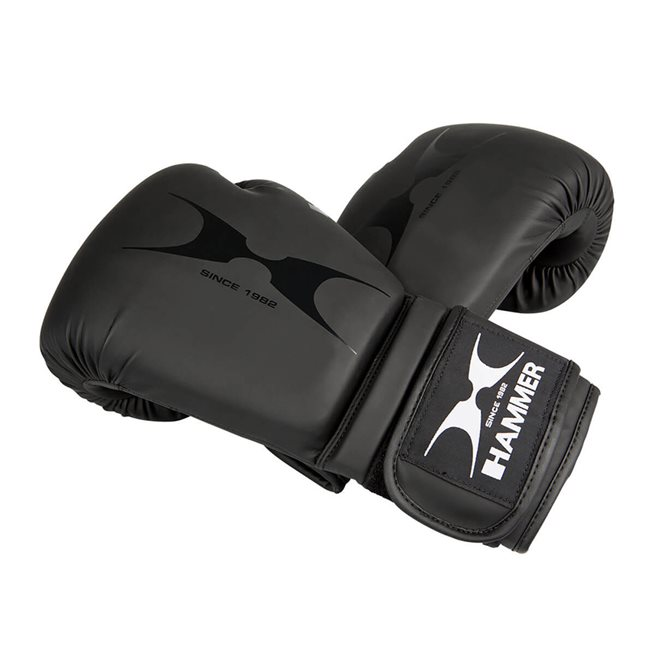 Hammer boxing Boxing gloves, PU, black