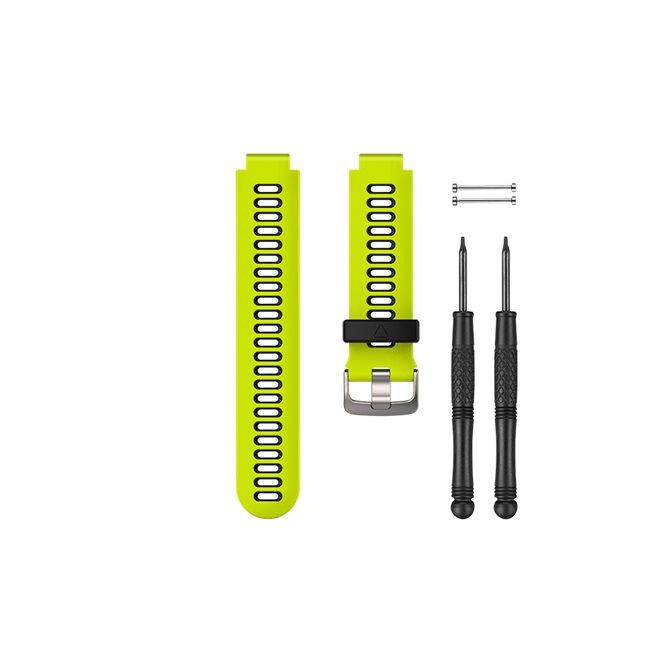 Garmin Klargult/svart klockarmband i silikon