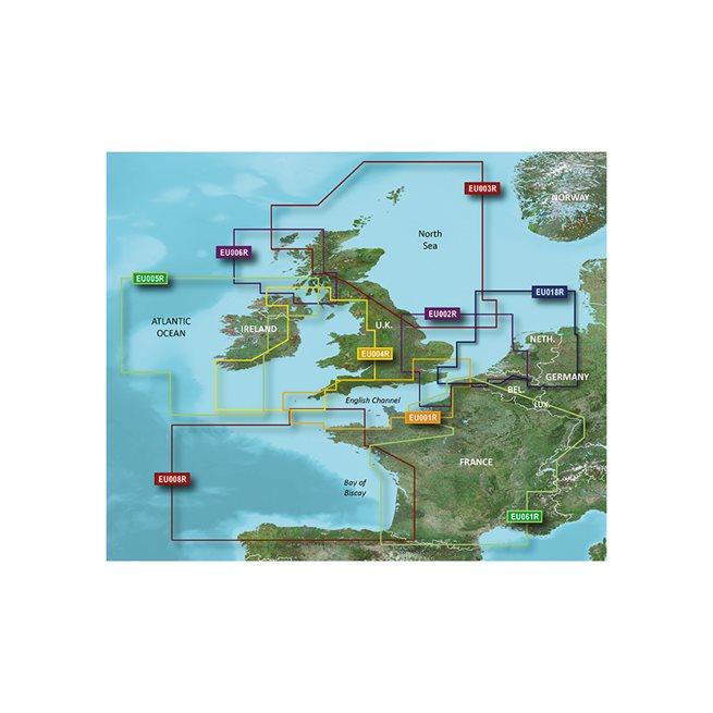 UK-Belux Inland Waters Garmin microSD™/SD™ card: HXEU002R