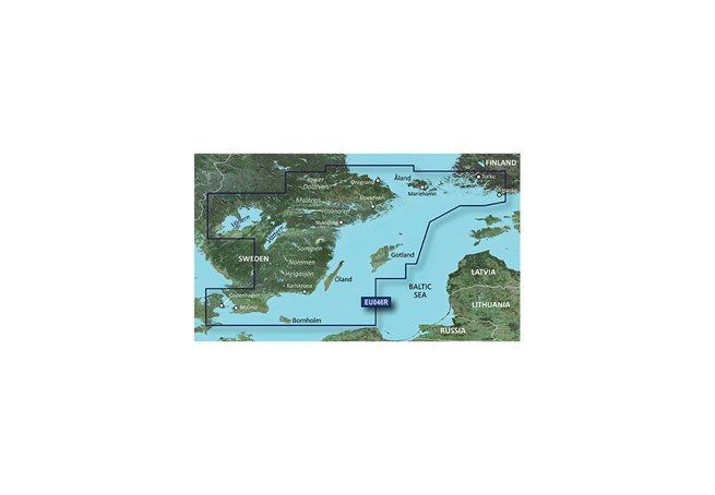 Sverige Sydöst Garmin HXEU046R - BlueChart g3 Sweden mSD/SD