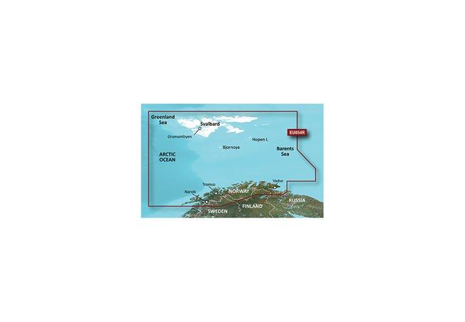 Vestfjd-Svalbard-Varanger Garmin HXEU054R - BlueChart g3 mSD/SD