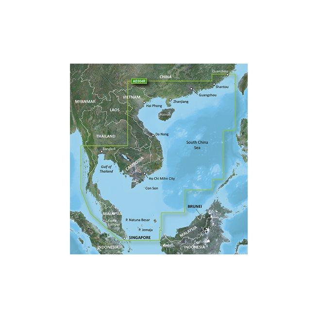 South China Sea Garmin microSD™/SD™ card: HXAE004R