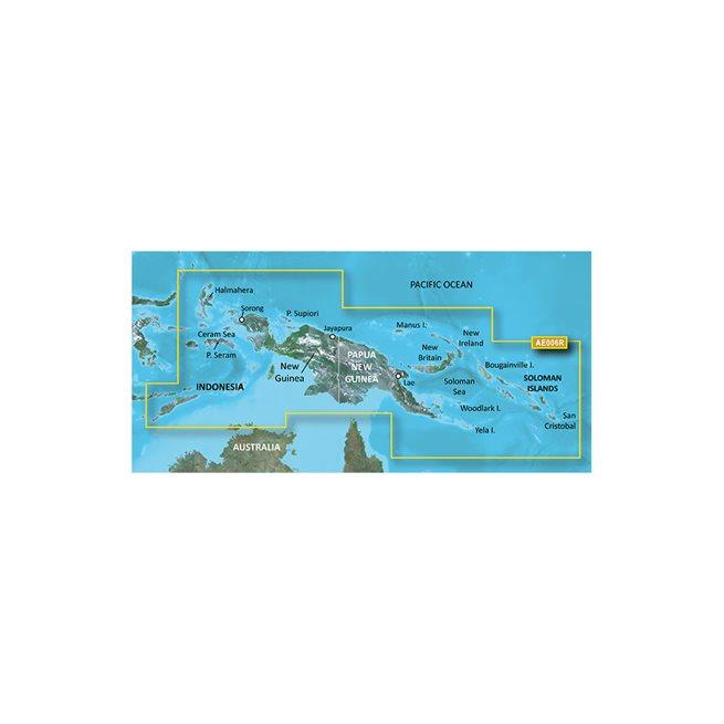 Timor Leste/New Guinea Garmin microSD™/SD™ card: HXAE006R