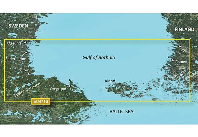Gulf of Bothnia, South Garmin VEU471S - BlueChart g3 Vision mSD/SD