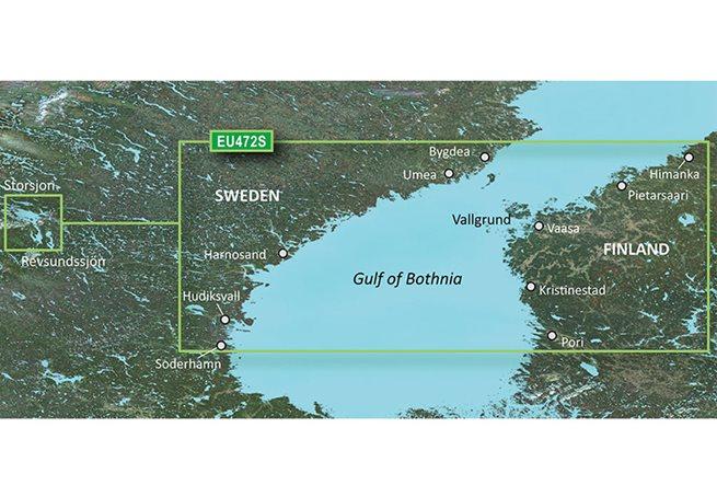 Gulf of Bothnia, Center Garmin VEU472S - BlueChart g3 Vision mSD/SD
