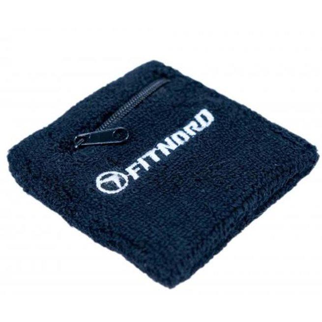 FitNord Wrist sweatband with pocket