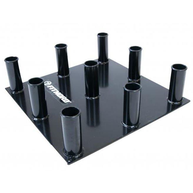FitNord Barbell holder 9 pcs for 50 mm barbells