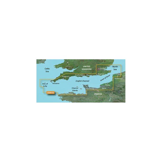 English Channel Garmin microSD™/SD™ card: VEU001R