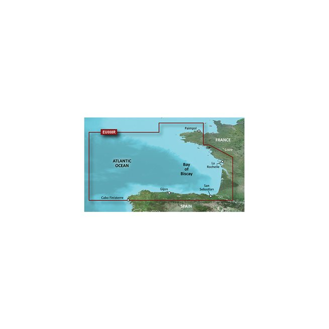 Bay of Biscay Garmin microSD™/SD™ card: VEU008R