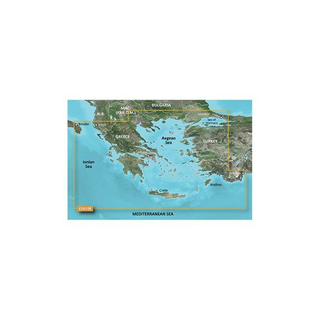 Aegean Sea & SeaofMarmara Garmin microSD™/SD™ card: VEU015R