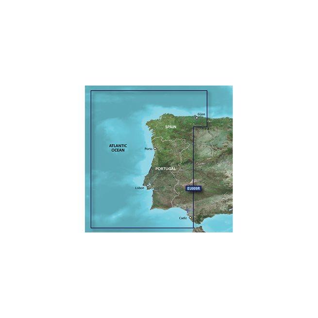 Portugal - Nordvästra Spanien Garmin microSD™/SD™ card: VEU009R