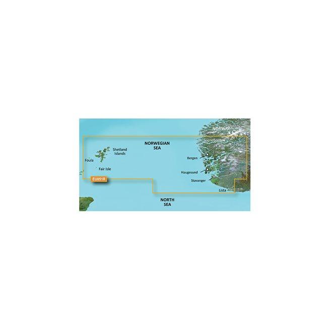 Lista - Sognefjorden Garmin microSD™/SD™ card: VEU051R
