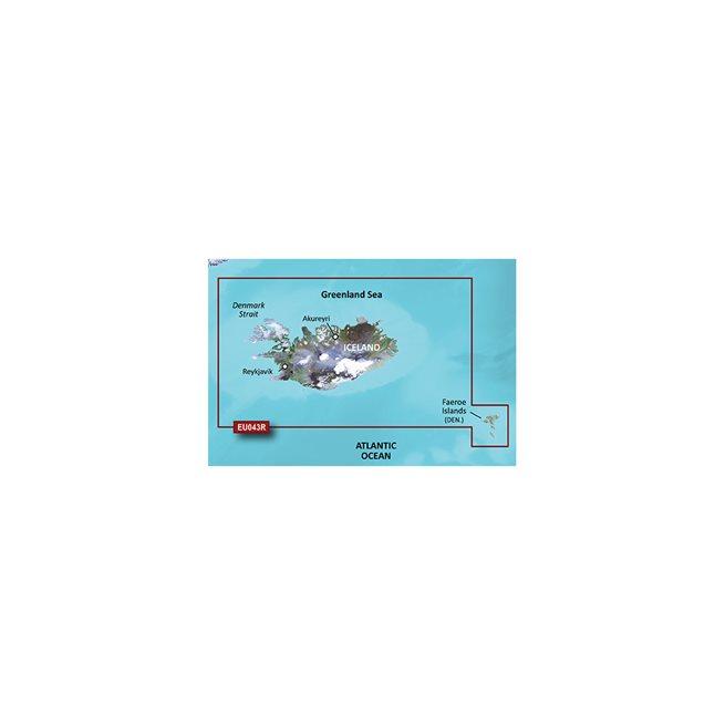 Iceland to Orkney Garmin microSD™/SD™ card: VEU043R
