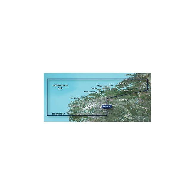 Sognefjorden - Svefjorden Garmin microSD™/SD™ card: VEU052R