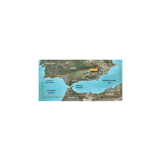 Alicante to Cabo de Sao Vi Garmin microSD™/SD™ card: VEU455S
