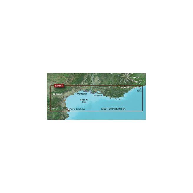 Golfe Du Lion to San Remo Garmin microSD™/SD™ card: VEU466S