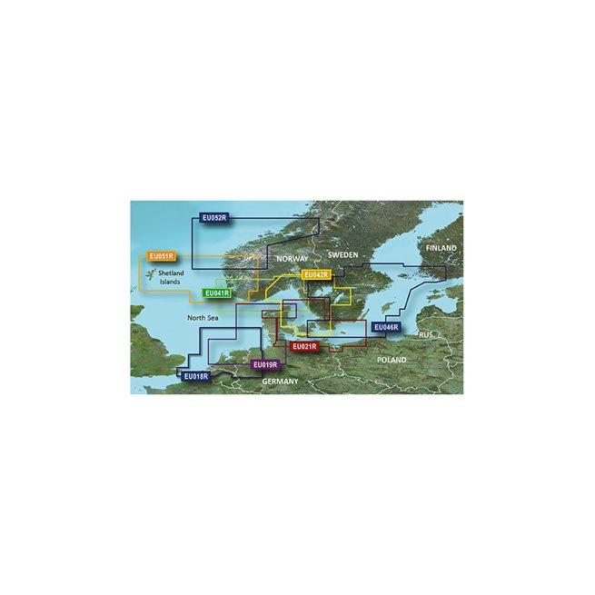 North Denmark & the Eider Garmin microSD™/SD™ card: VEU474S