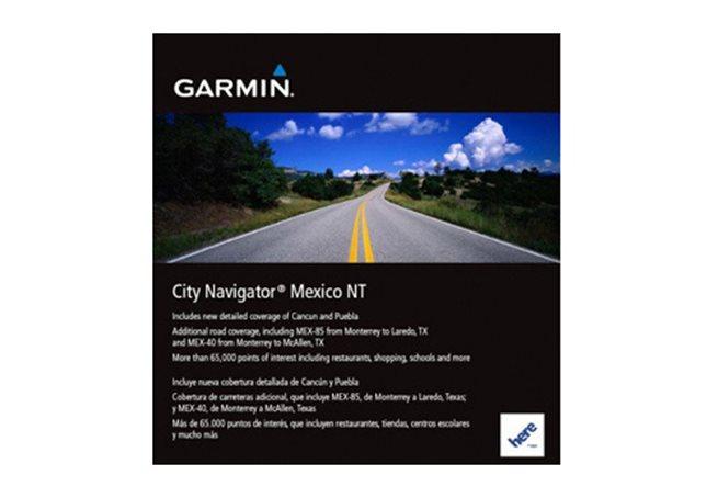 Mexico NT Garmin microSD™/SD™ card: City Navigator®