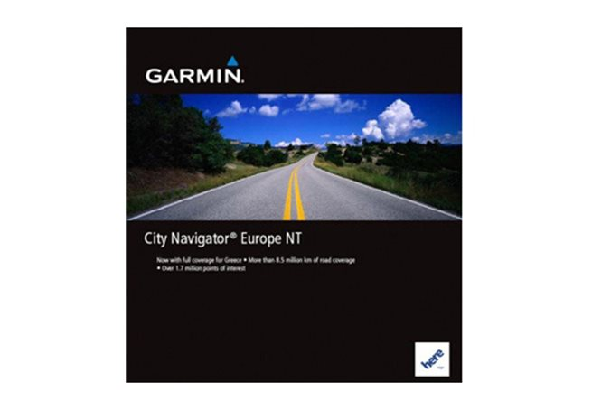 Alperna och DACH Garmin City Navigator® Europe NT - MICROSD™/SD™ CARD