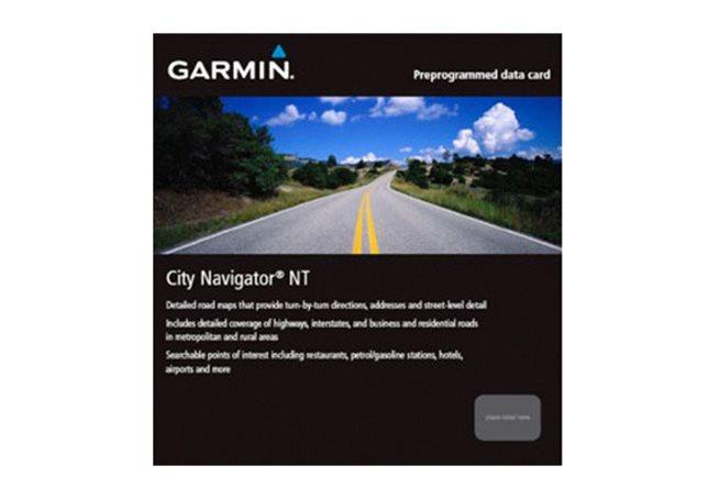 China NT – engelska Garmin microSD™/SD™ card: City Navigator®