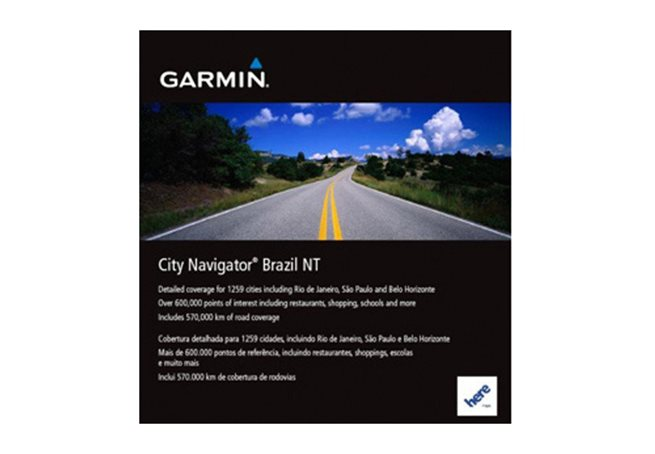 Brasilien NT Garmin microSD™/SD™ card: City Navigator®