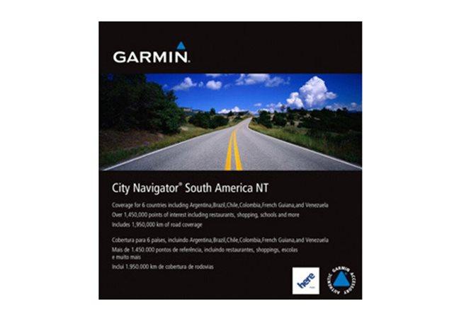 Sydamerika Garmin microSD™/SD™ card: City Navigator®