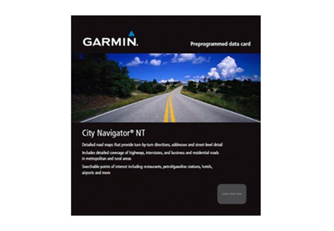 Frankrike + Beneluxländerna Garmin City Navigator® Europe NT - MICROSD™/SD™ CARD