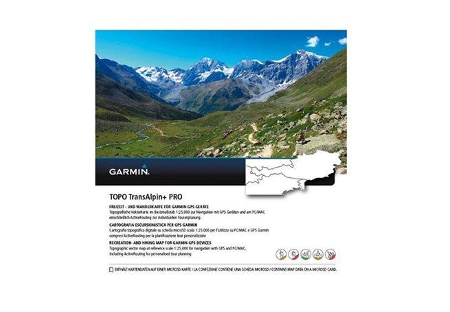 TOPO (Östra Alperna) TransAlpine + PRO Garmin microSD™/SD™-kort: