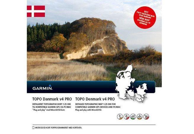 TOPO Danmark v4 PRO Garmin microSD™/SD™ card