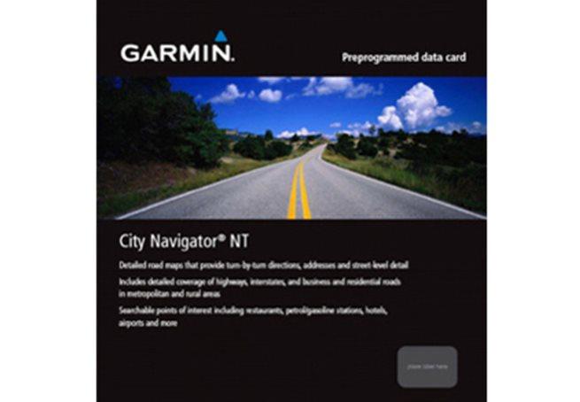 Mellanöstern + Nordafrika NT Garmin microSD™/SD™ card: City Navigator
