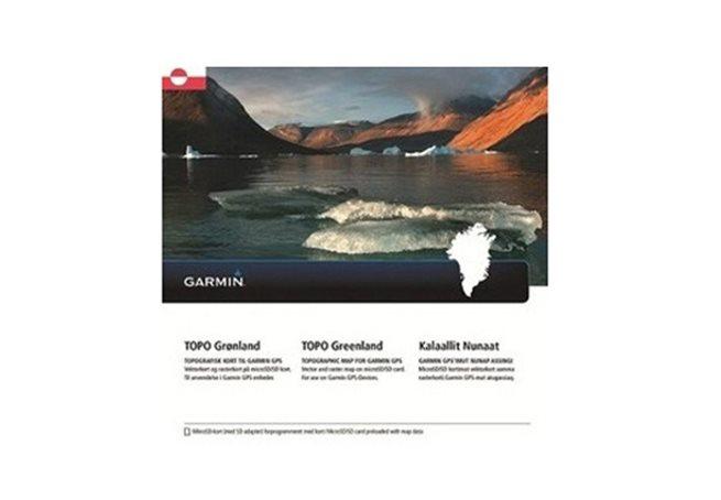 TOPO Grönland Garmin microSD™/SD™