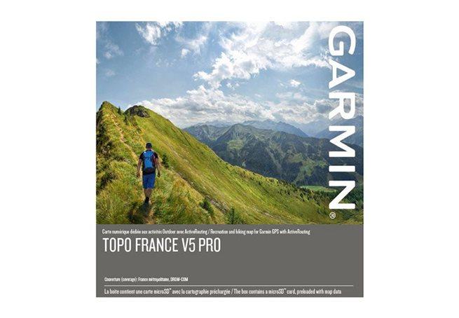 TOPO Frankrike v5 PRO, hela landet Garmin microSD™-/SD™-kort