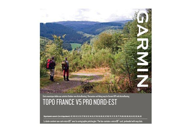 TOPO Frankrike v5 PRO, nordöstra Garmin microSD™-/SD™-kort