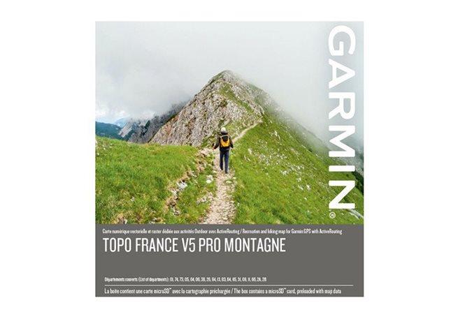 TOPO Frankrike v5 PRO, Montagne Garmin microSD™-/SD™-kort
