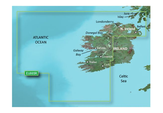 Ireland, West Coast Garmin microSD™/SD™ card: HXEU005R