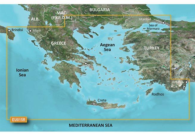 Aegean Sea & Sea of Marmara Garmin microSD™/SD™ card: HXEU015R