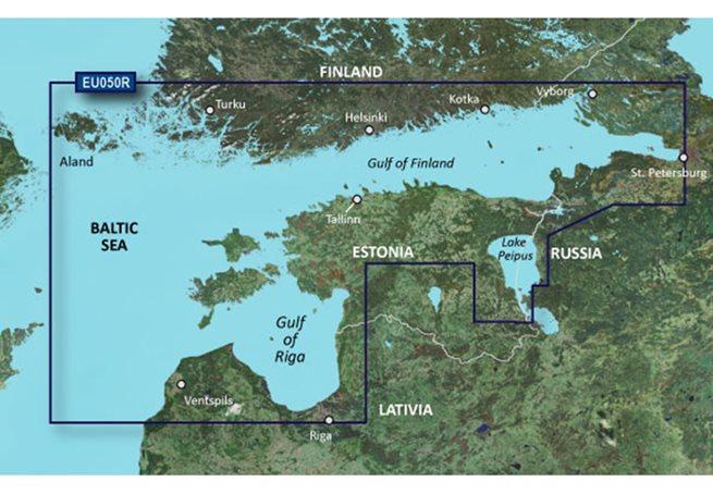 Gulfs of Finland & Riga Garmin microSD™/SD™ card: HXEU050R