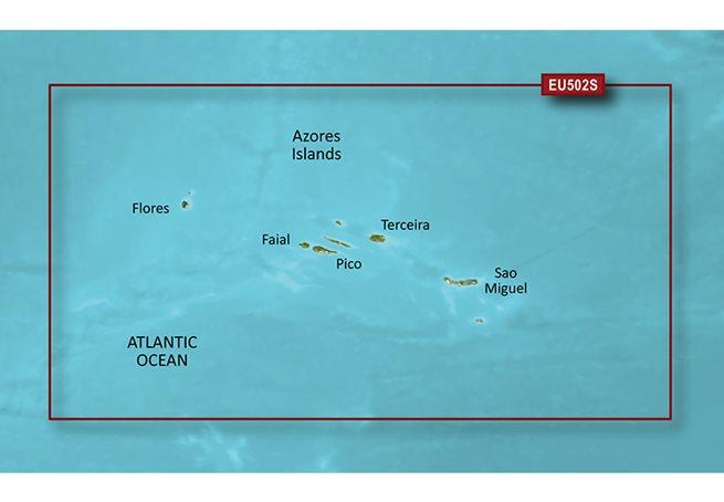 Azores Islands Garmin microSD™/SD™ card: VEU502S