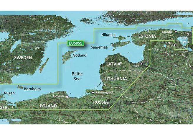 Baltic Sea, East Coast Garmin microSD™/SD™ card: VEU065R