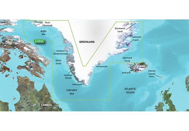 Greenland Garmin microSD™/SD™ card: VEU064R