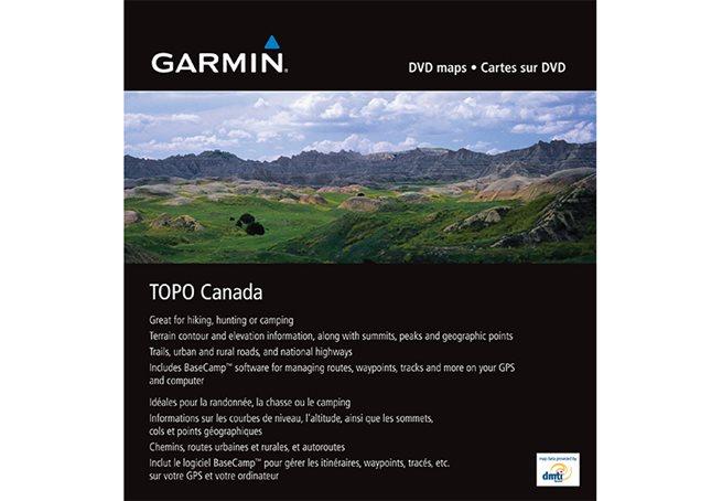 TOPO Kanada -Hela  Garmin microSD/SD card